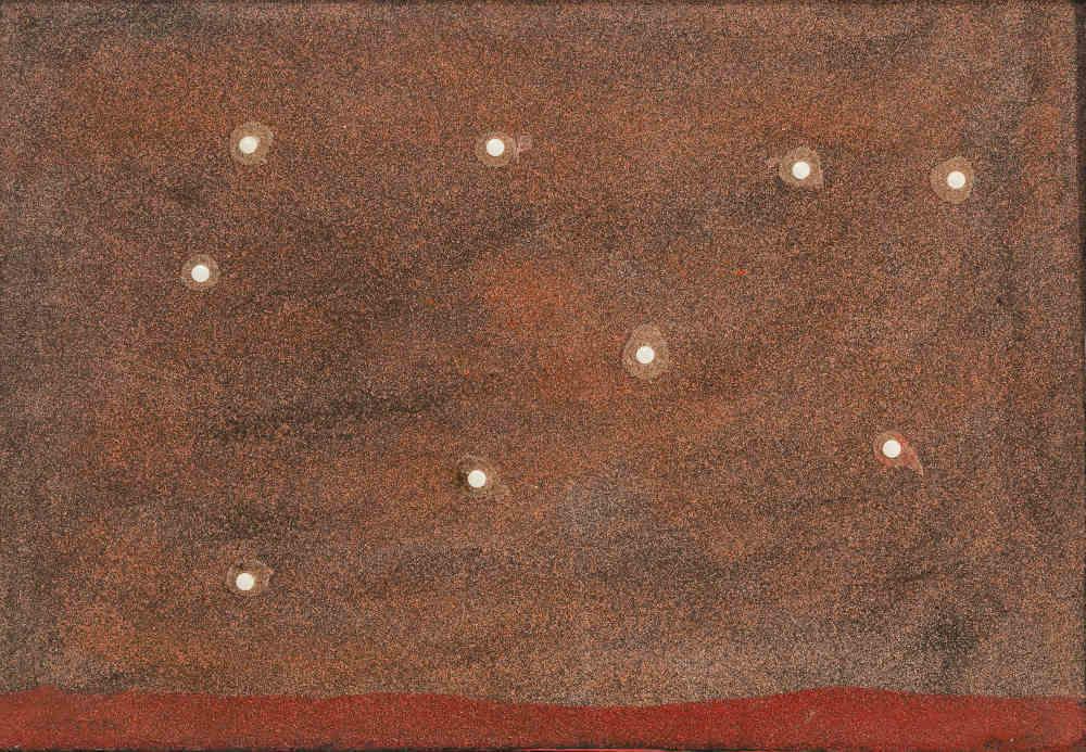 Giulio Turcato, Tranquillanti (primi anni anni Settanta), galleria Il Ponte, Firenze
