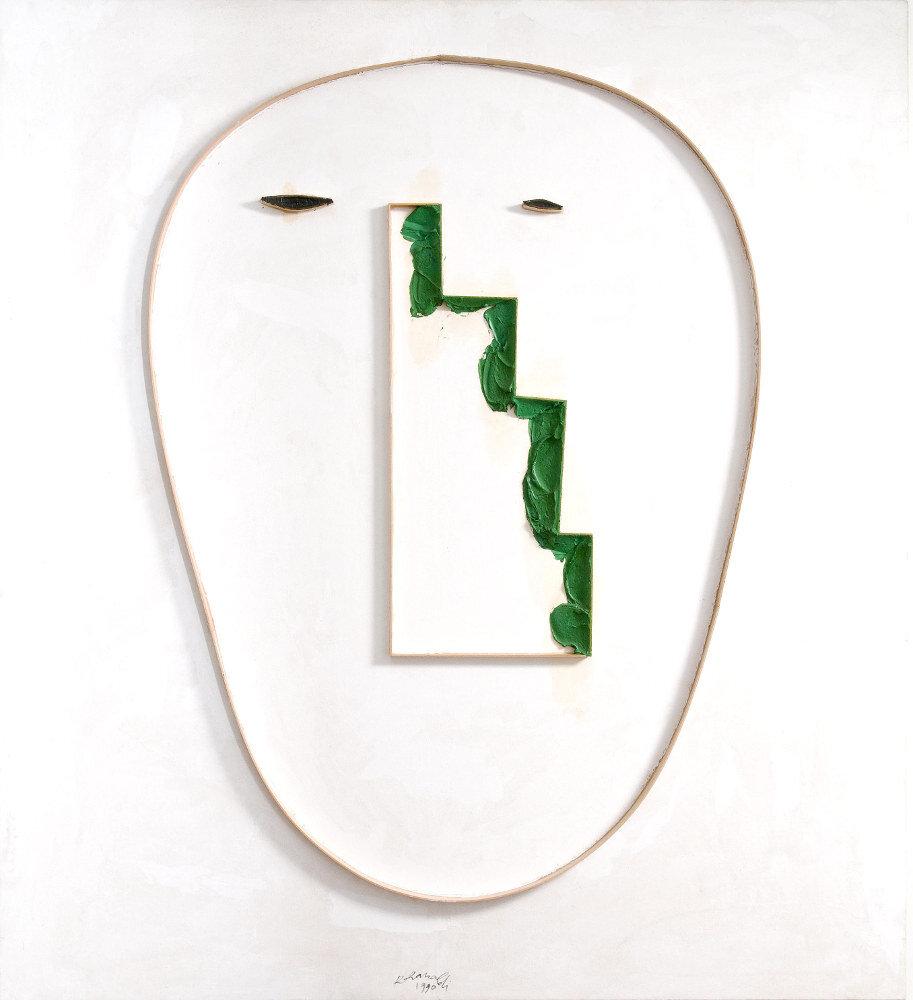 Renato Ranaldi, Autoritratto, 1990, galleria Il Ponte, Firenze_1