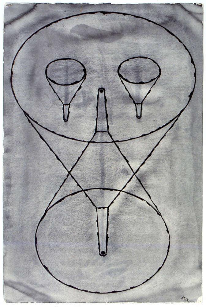 Renato Ranaldi, Fisionomia imbutata, 1992, galleria Il Ponte, Firenze_4