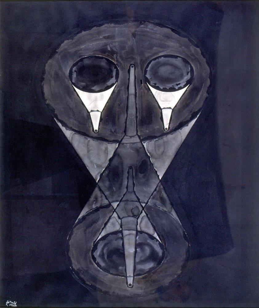 Renato Ranaldi, Fisionomia imbutata, 1992, galleria Il Ponte, Firenze_5jpg