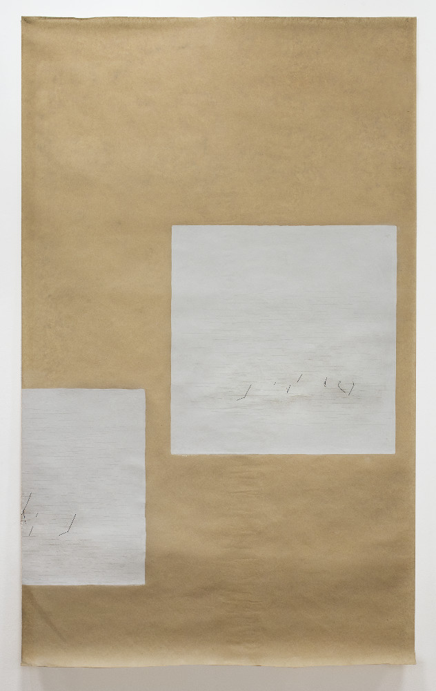 Marco Gastini, BO 2, 1977, galleria Il Ponte, Firenze