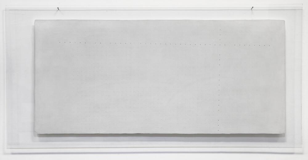 Marco Gastini, Ortogonale, 1973, galleria Il Ponte, Firenze