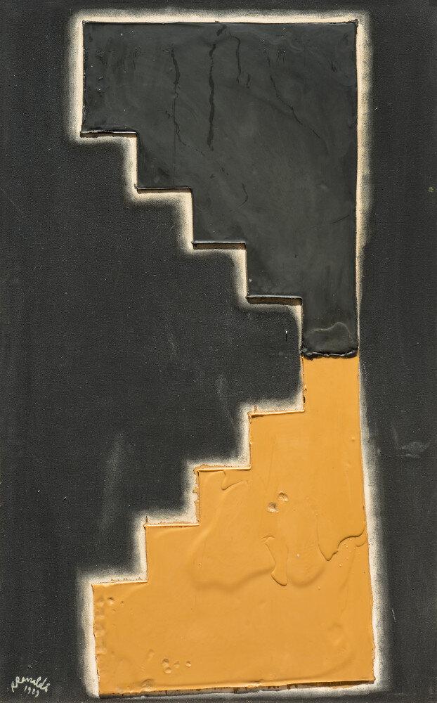 Renato Ranaldi, La scala di Giacobbe, 1989, galleria Il Ponte, Firenze