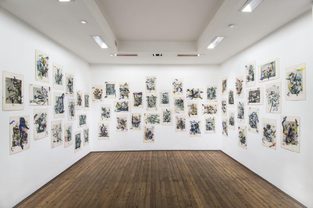 Bernard Joubert, La pittura, al limite, 2016, galleria Il Ponte, Firenze_10