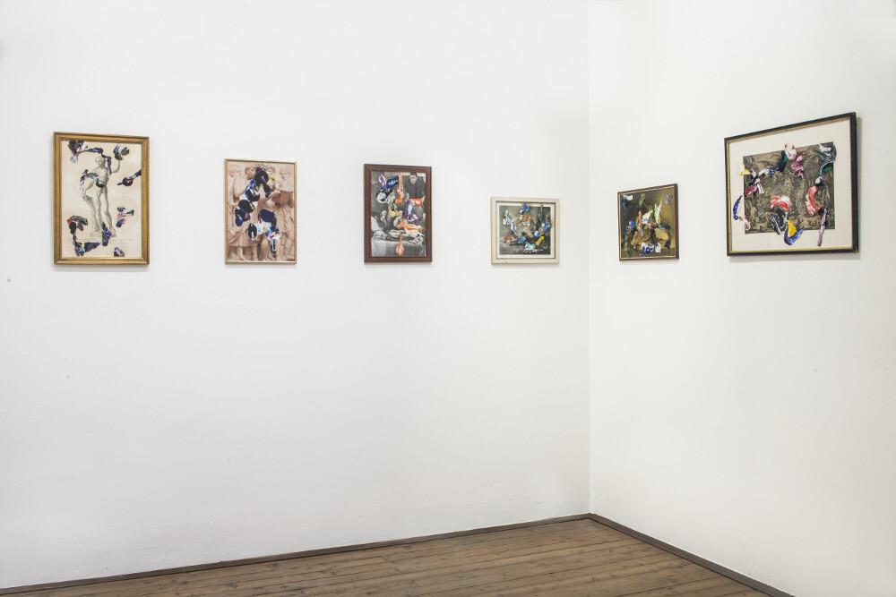 Bernard Joubert, La pittura, al limite, 2016, galleria Il Ponte, Firenze_11