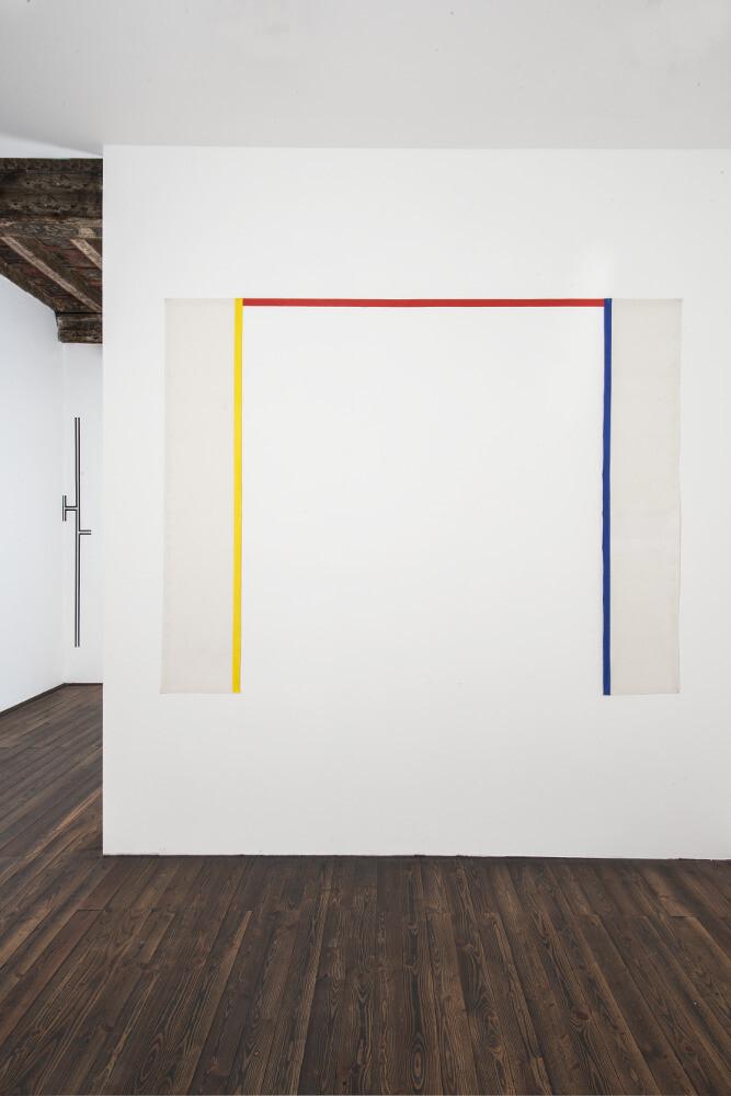 Bernard Joubert, La pittura, al limite, 2016, galleria Il Ponte, Firenze_3