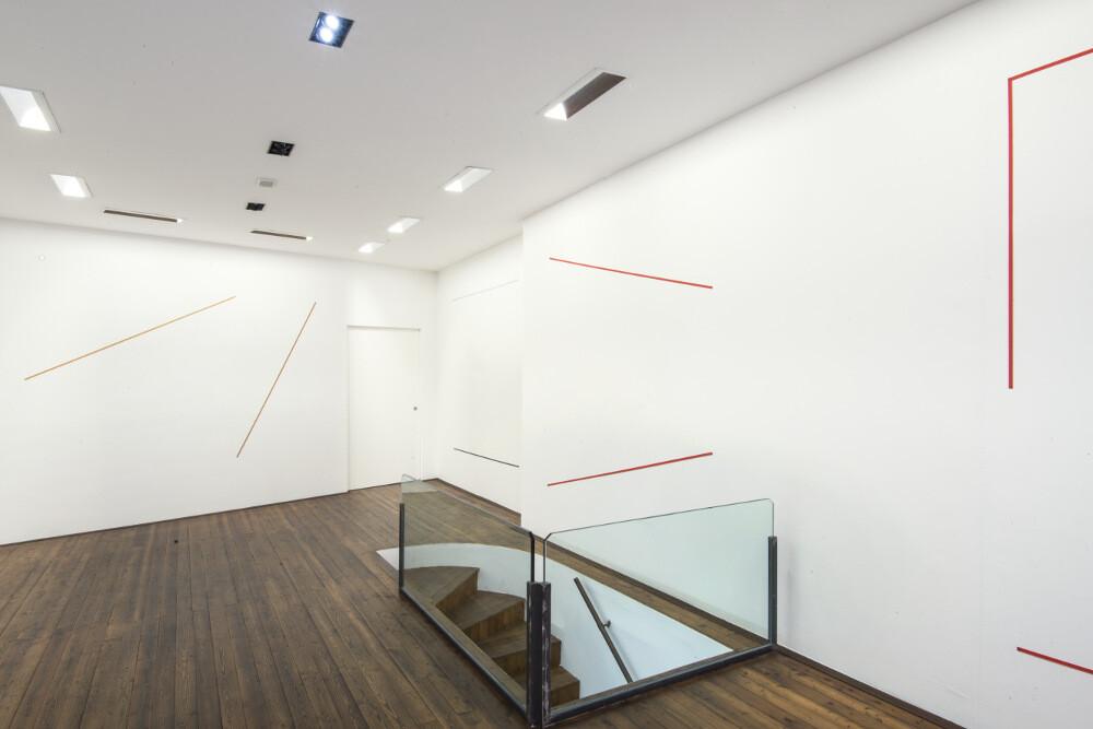 Bernard Joubert, La pittura, al limite, 2016, galleria Il Ponte, Firenze_6