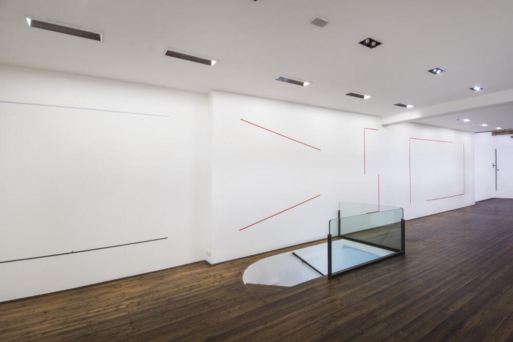 Bernard Joubert, La pittura, al limite, 2016, galleria Il Ponte, Firenze_7