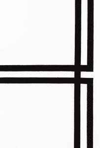 Bernard Joubert, La pittura al limite, copertina, galleria Il Ponte, Firenze