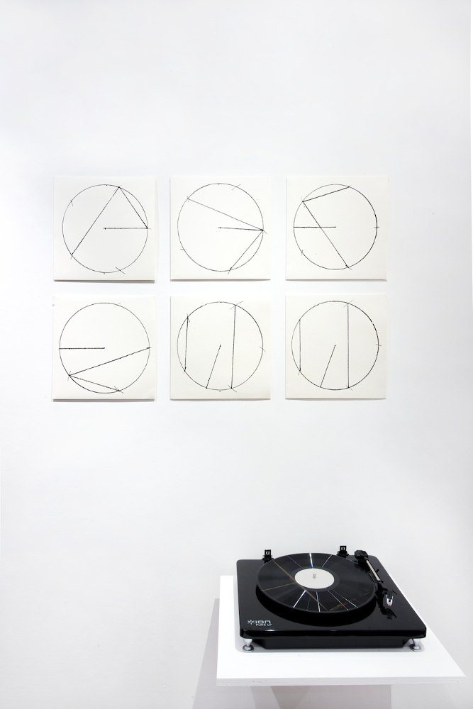 Davide Mosconi, Sezione aurea (particolare) 1971:2000, galleria Il Ponte, Firenze
