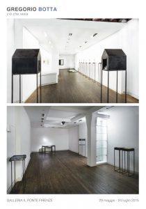 Gregorio Botta, Ciò che resta, copertina, galleria Il Ponte, Firenze