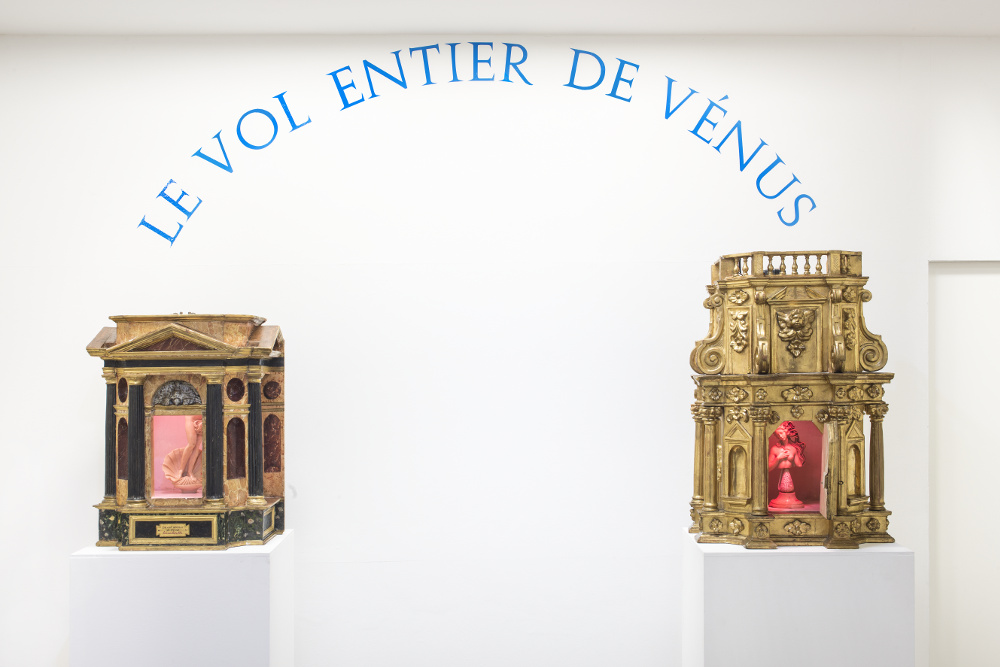 Luca Maria Patella, Le vol entier de Vénus, 1989, galleria Il Ponte, Firenze