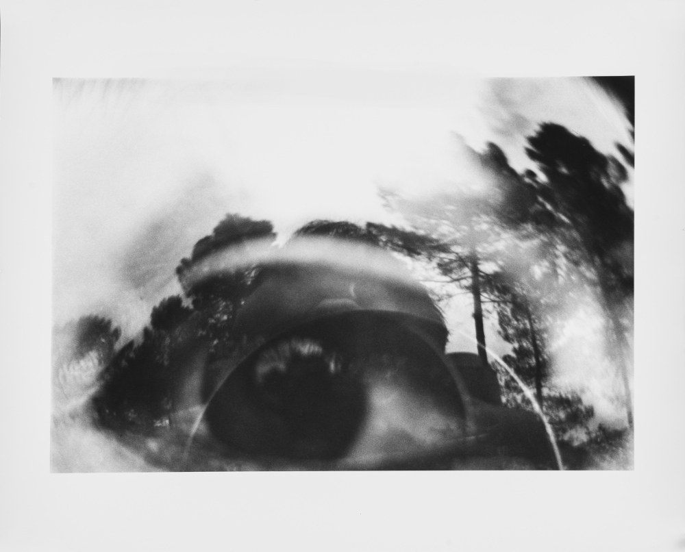Luca Maria Patella, Occhio nel paesaggio, 1965, galleria Il Ponte, Firenze