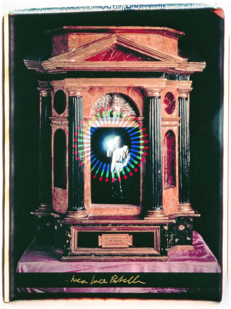 Luca Maria Patella, Perché il Sol ne riluca, 1991, galleria Il Ponte, Firenze