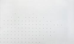 Marco Gastini, Acrilico n.9 (detail), galleria Il Ponte, Firenze