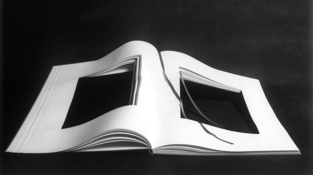 Vincenzo Agnetti, Libro dimenticato a memoria,1969, galleria Il Ponte, Firenze