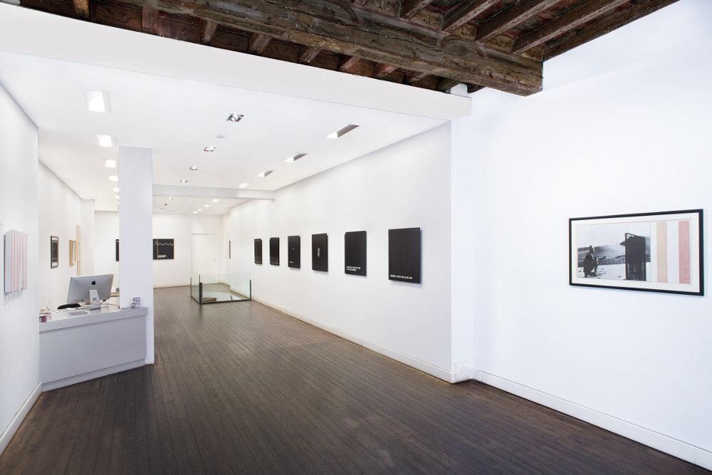 Vincenzo Agnetti, Testimonianza, 2015, galleria Il Ponte, Firenze_1