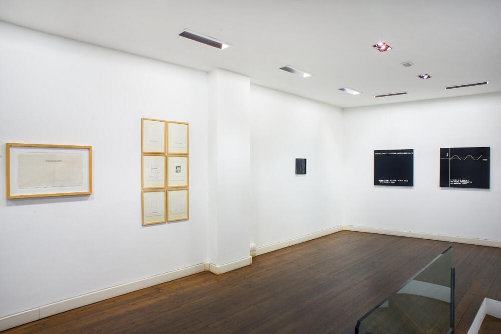 Vincenzo Agnetti, Testimonianza, 2015, galleria Il Ponte, Firenze_5