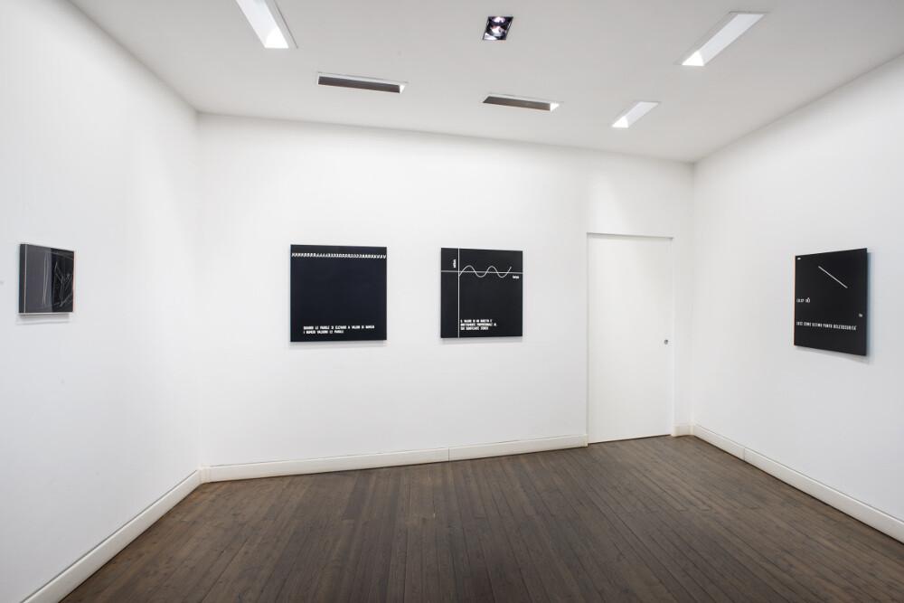 Vincenzo Agnetti, Testimonianza, 2015, galleria Il Ponte, Firenze_6