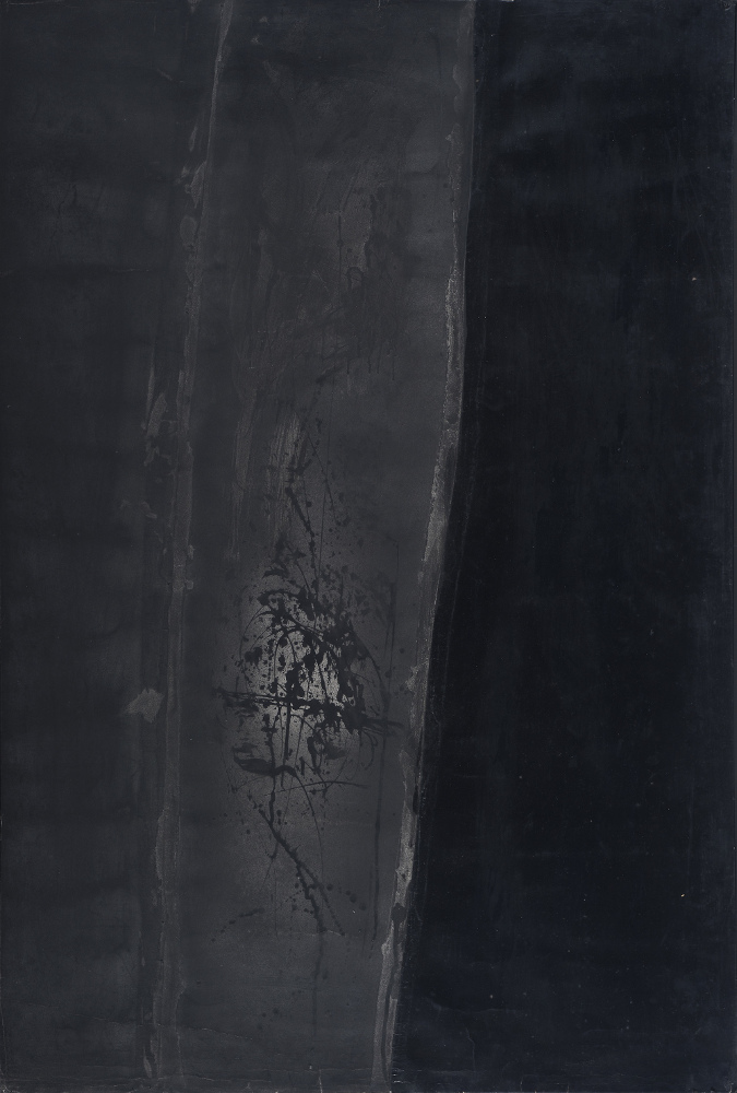 Franco Angeli, O.G. 15:5, 1959, galleria Il Ponte, Firenze
