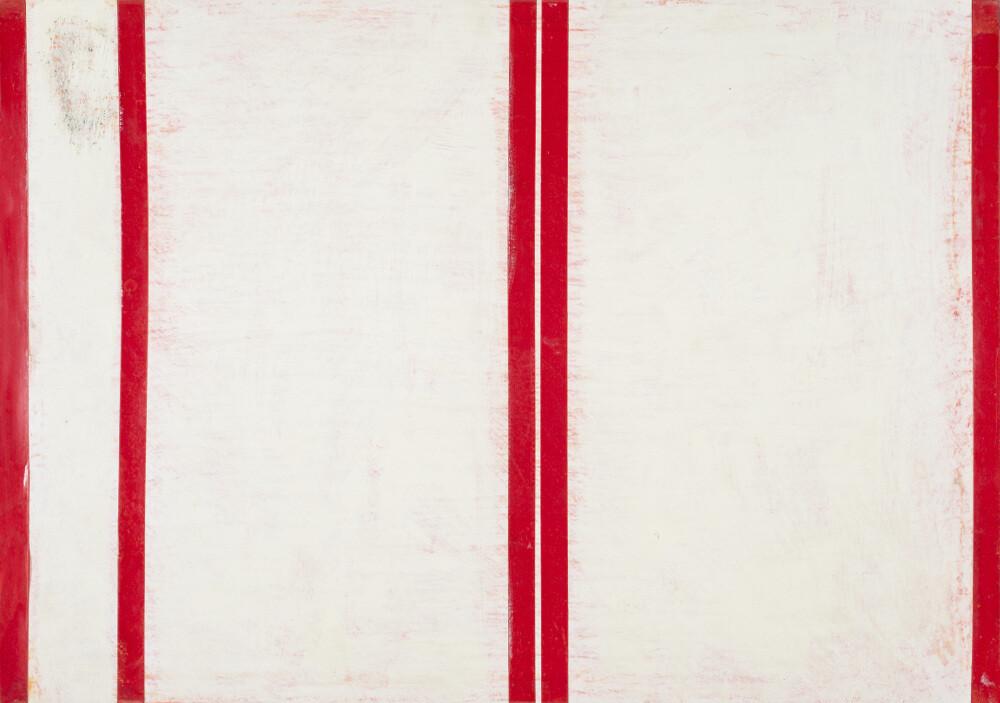 Tano Festa, 15-N. 10, 61, 1961, galleria Il Ponte, Firenze
