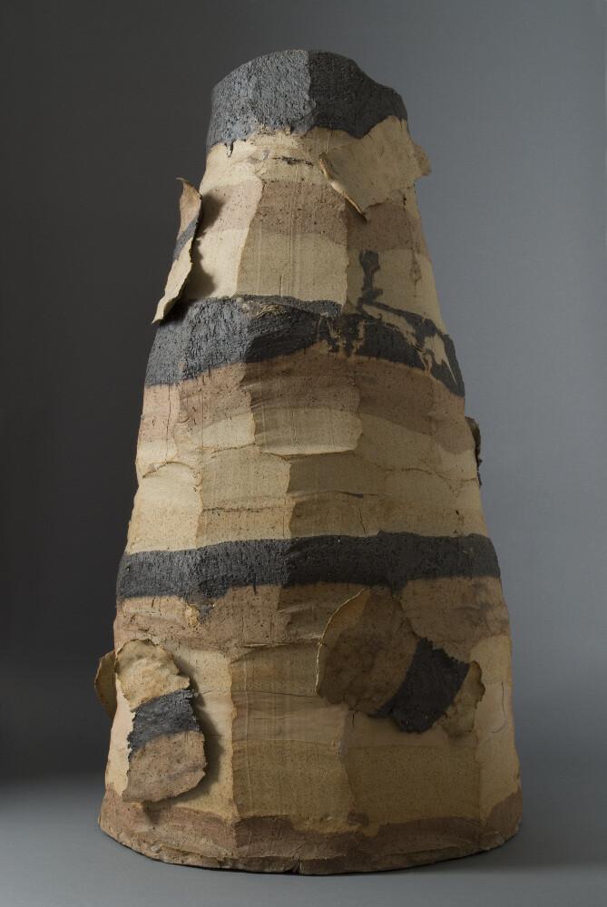 Bruno Gambone, Senza titolo, 2003, gres, galleria Il Ponte, Firenze