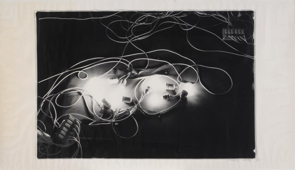 Giuseppe Chiari, Concerto per luce, 1984, galleria Il Ponte, Firenze