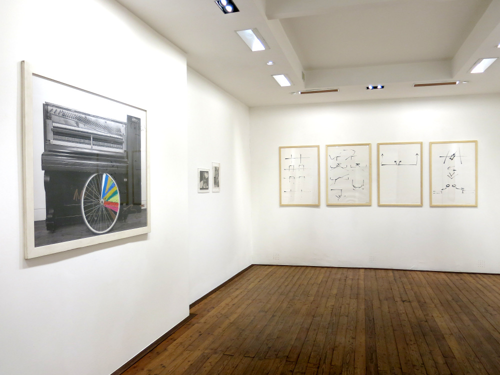 Giuseppe Chiari, PentaChiari, 2017, galleria Il Ponte, Firenze_9