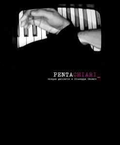 Giuseppe Chiari, PentaChiari, copertina, galleria Il Ponte, Firenze
