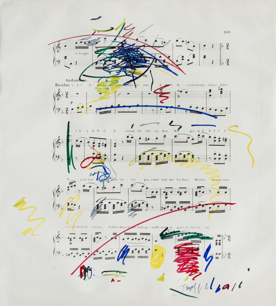 Giuseppe Chiari, Senza titolo, (primi anni '80), galleria Il Ponte, Firenze_1