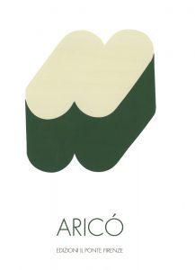 Rodolfo Aricò, copertina, galleria Il Ponte, Firenze