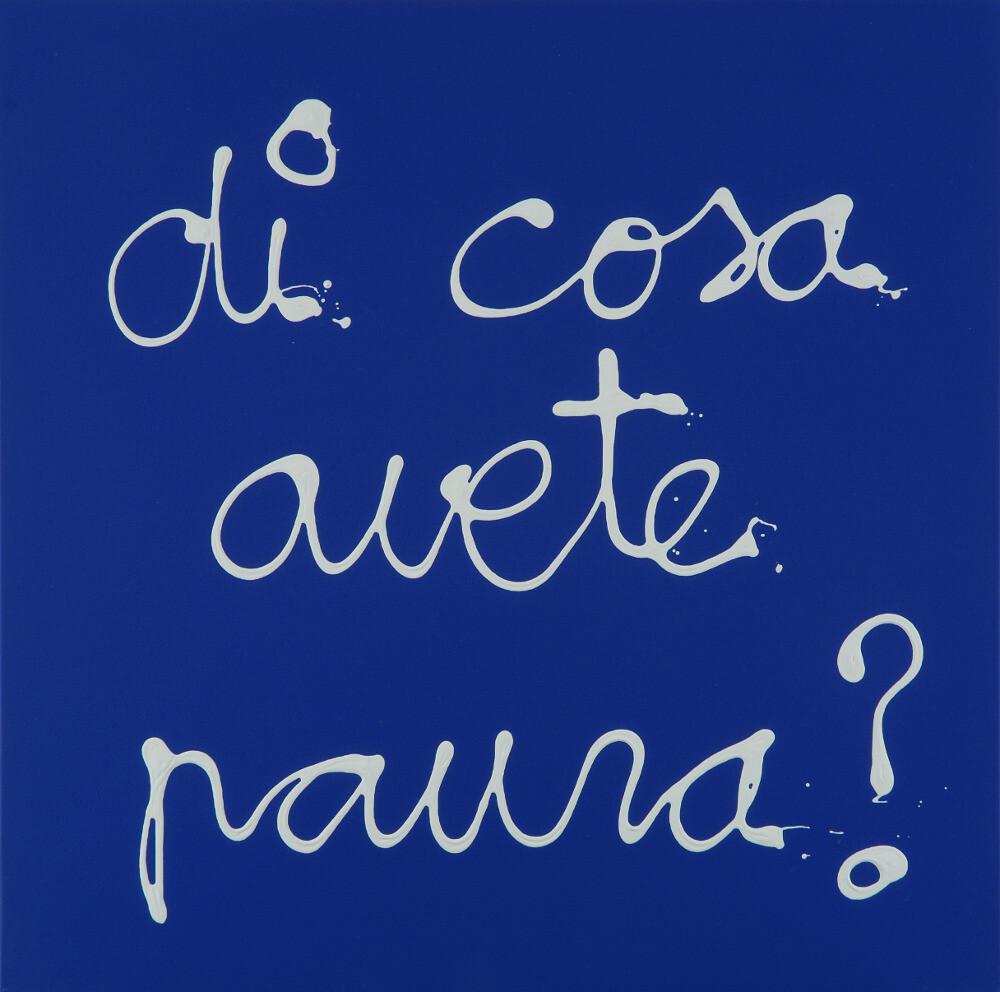 Ben, Di cosa avete paura?, 2007, galleria Il Ponte, Firenze