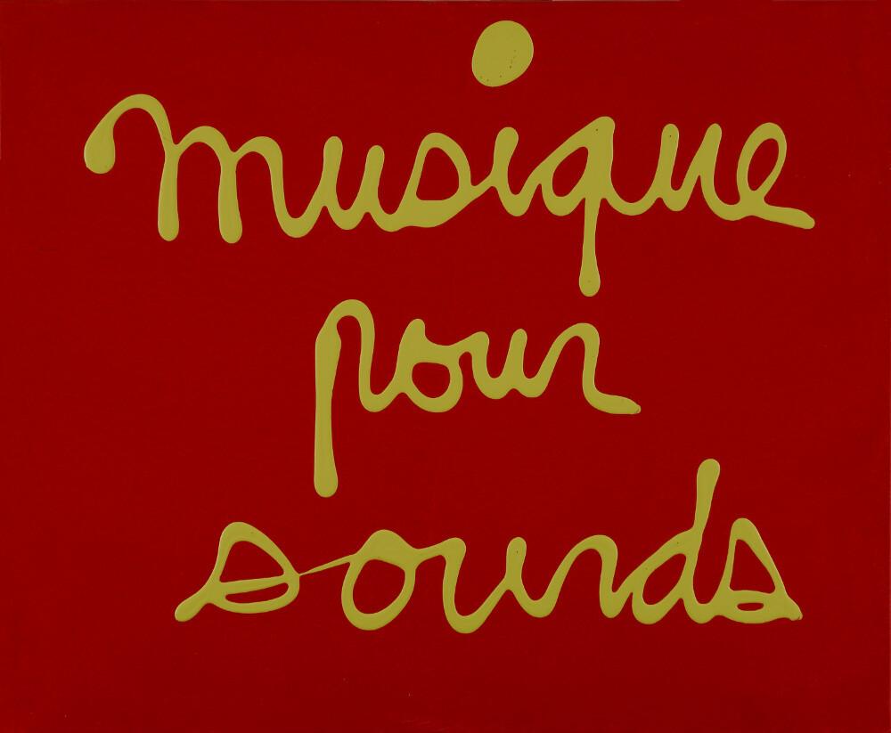 Ben, Musique pour sourds, 2002, galleria Il Ponte, Firenze