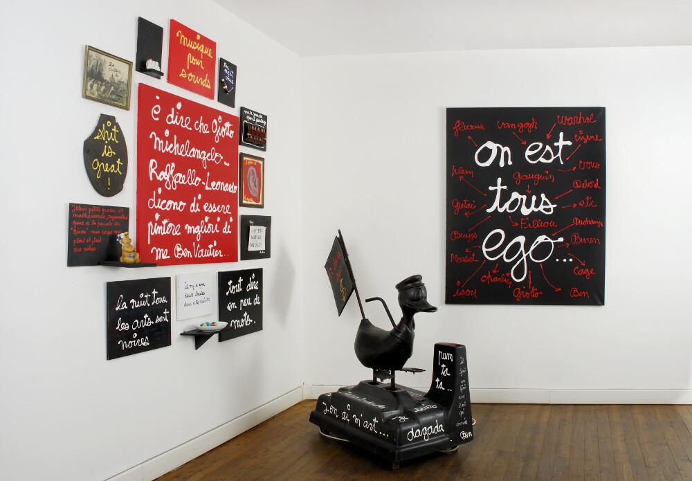 Ben, L'arte del limite Ego, galleria Il Ponte, Firenze_11