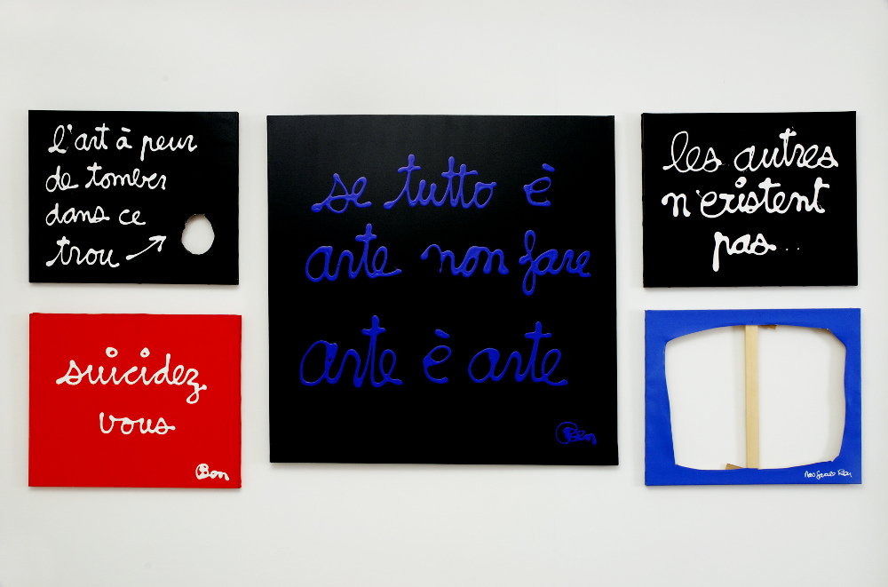 Ben, L'arte del limite tutto è arte, galleria Il Ponte, Firenze_12