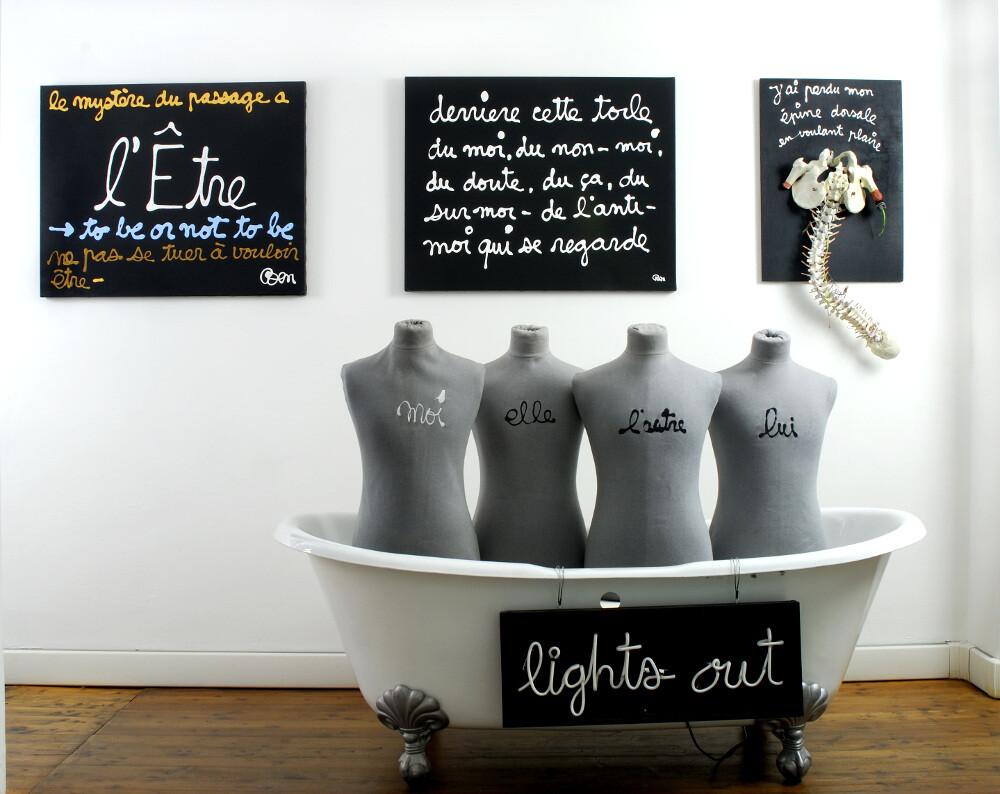 Ben, L'arte del limite vasca, galleria Il Ponte, Firenze_9