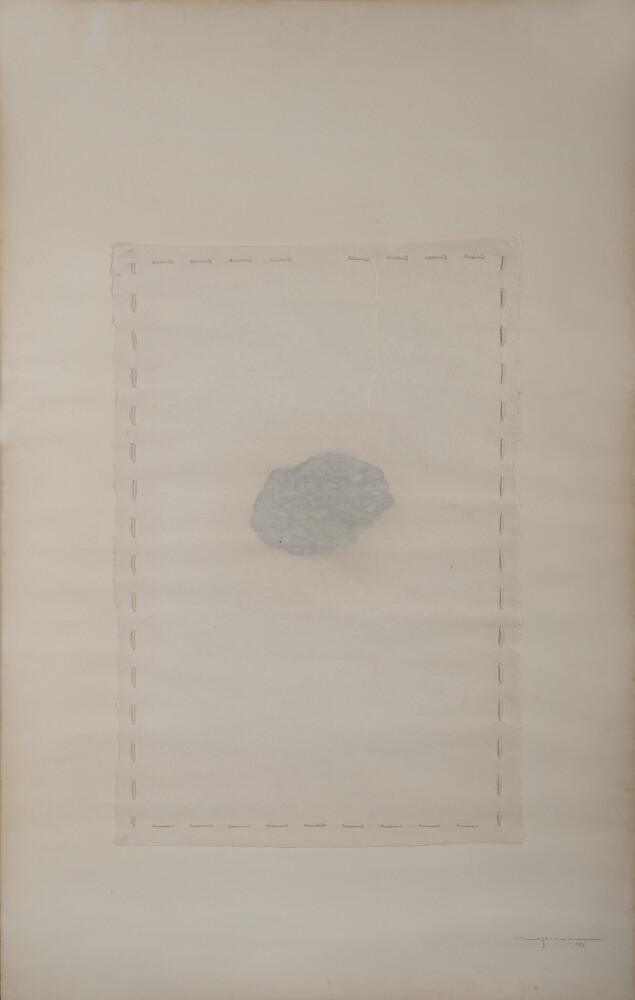 Hidetoshi Nagasawa, Senza titolo, 1976, galleria Il Ponte, Firenze