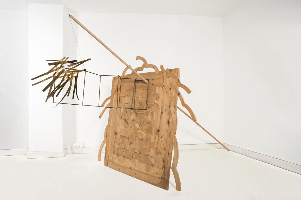 Hidetoshi Nagasawa, Vecchio pino, 1985, galleria Il Ponte, Firenze