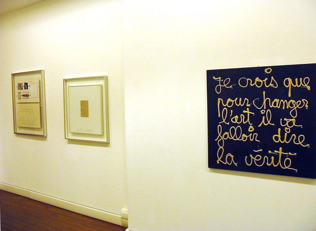 L'arte è una parola, galleria Il Ponte, Firenze_09
