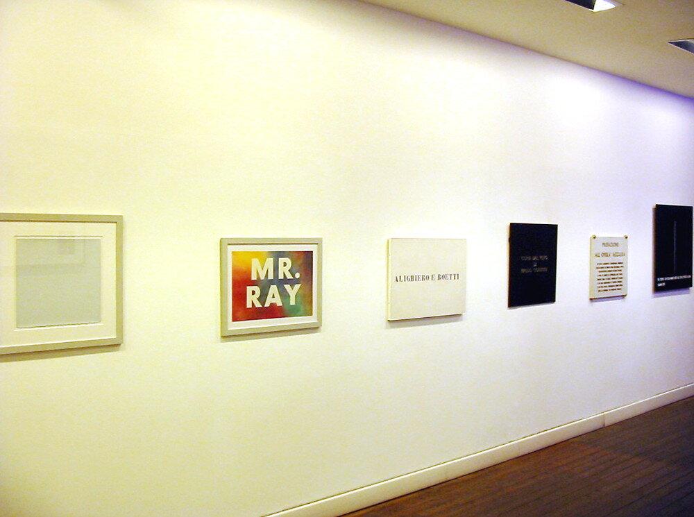 L'arte è una parola, galleria Il Ponte, Firenze_11