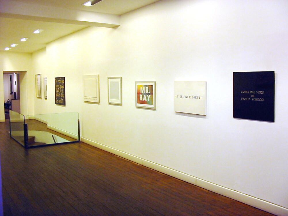 L'arte è una parola, galleria Il Ponte, Firenze_12