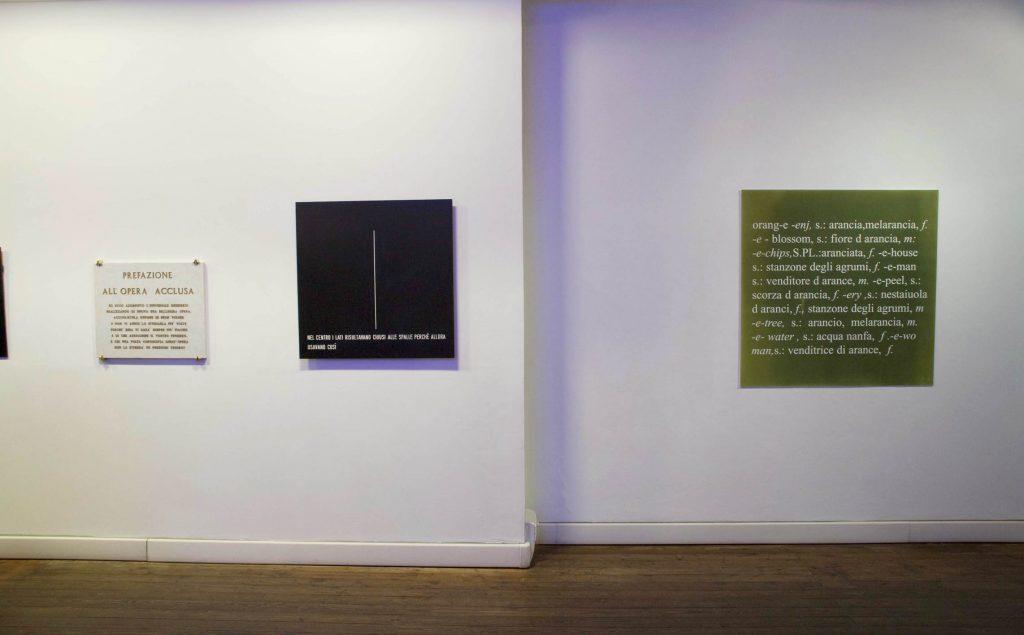 L'arte è una parola, galleria Il Ponte, Firenze_14