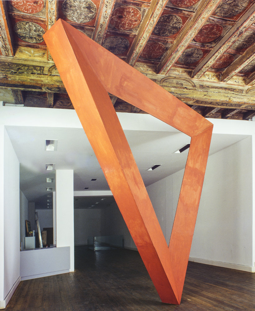 Mauro Staccioli, Firenze 2004, galleria Il Ponte, Firenze_1