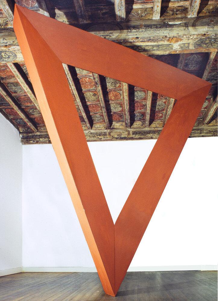 Mauro Staccioli, Firenze 2004, galleria Il Ponte, Firenze_2