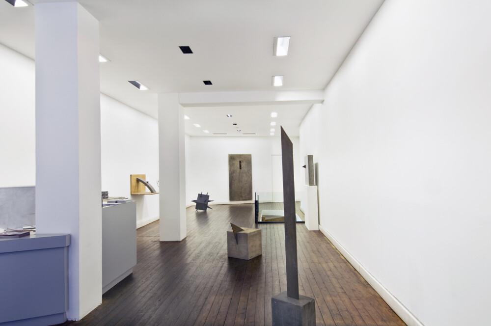 Mauro Staccioli, Gli anni di cemento, 2012, galleria Il Ponte, Firenze_02