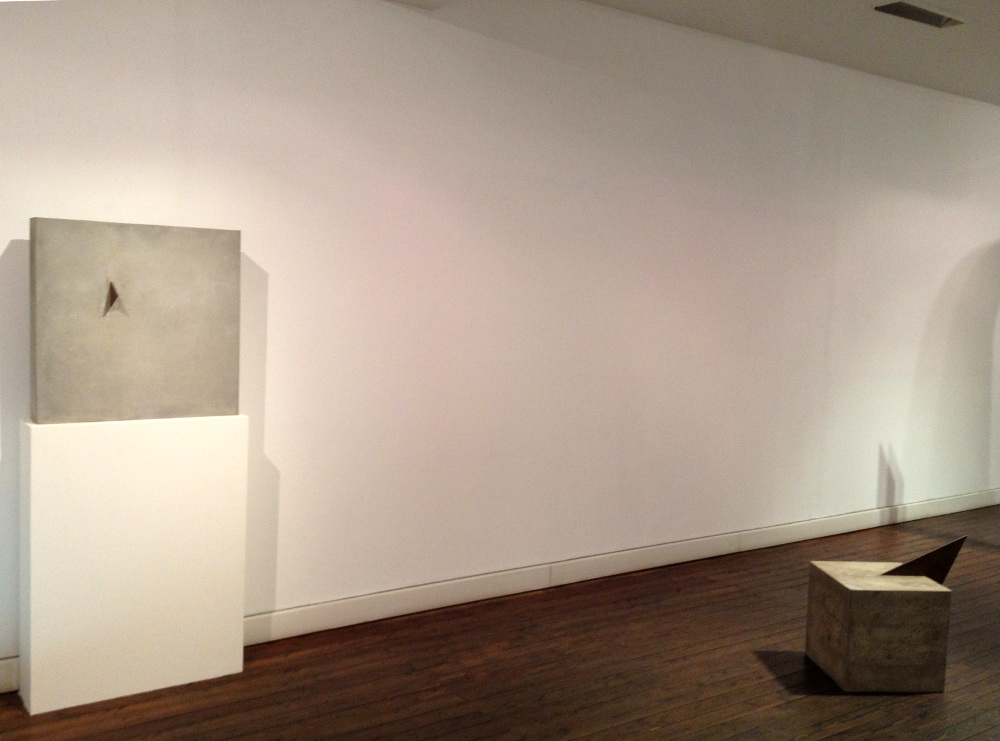 Mauro Staccioli, Gli anni di cemento, 2012, galleria Il Ponte, Firenze_07