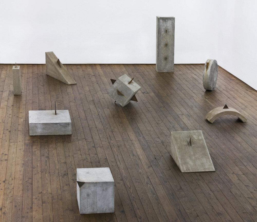 Mauro Staccioli, Gli anni di cemento, 2012, galleria Il Ponte, Firenze_09 sl