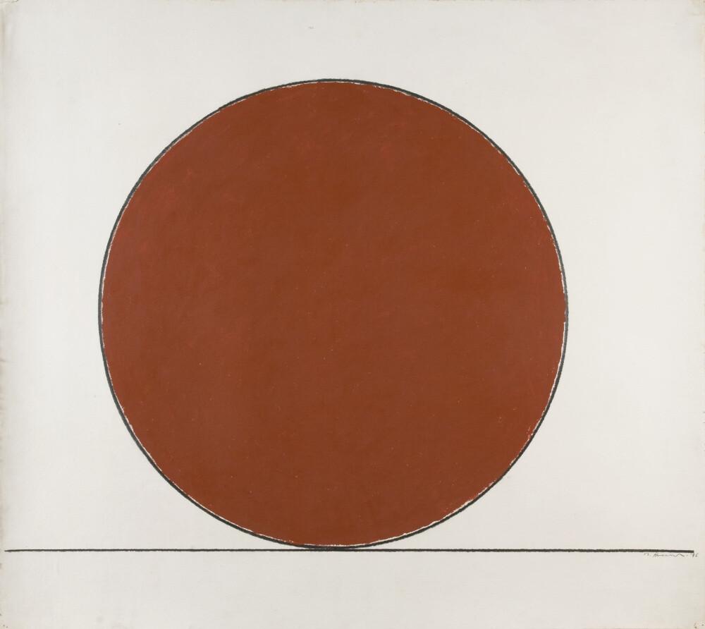 Mauro Staccioli, Senza titolo, 1996, galleria Il Ponte, Firenze