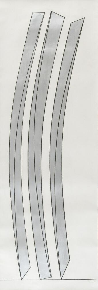 Mauro Staccioli, Senza titolo, 2003, galleria Il Ponte, Firenze_1