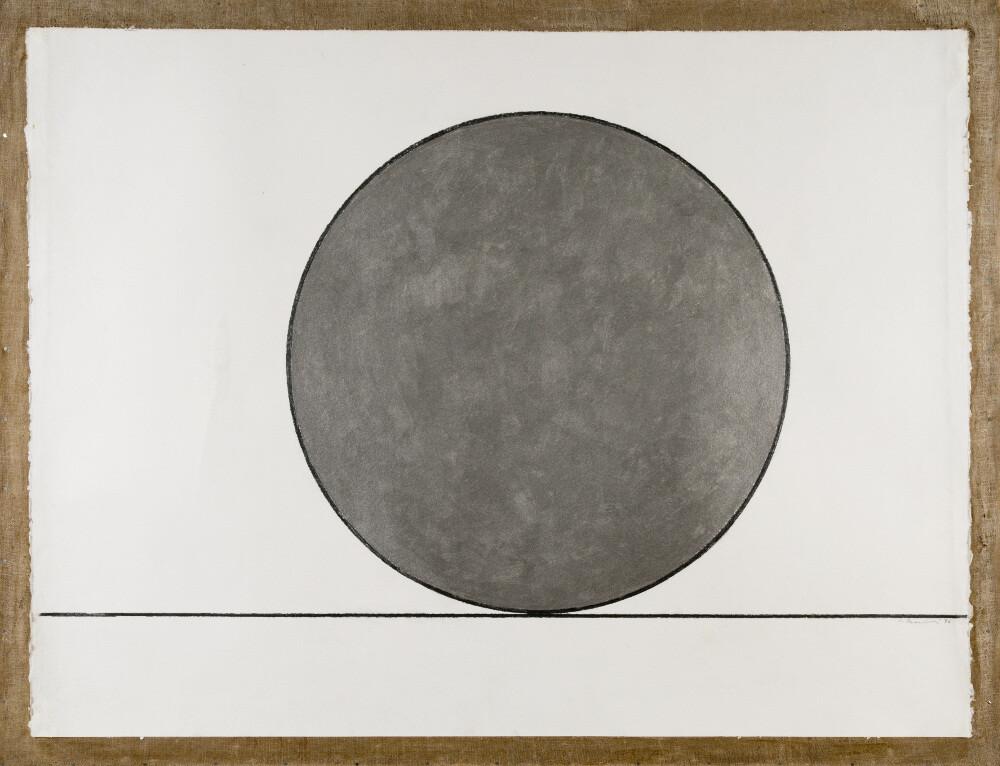 Mauro Staccioli, Tondo pieno, 1996, galleria Il Ponte, Firenze